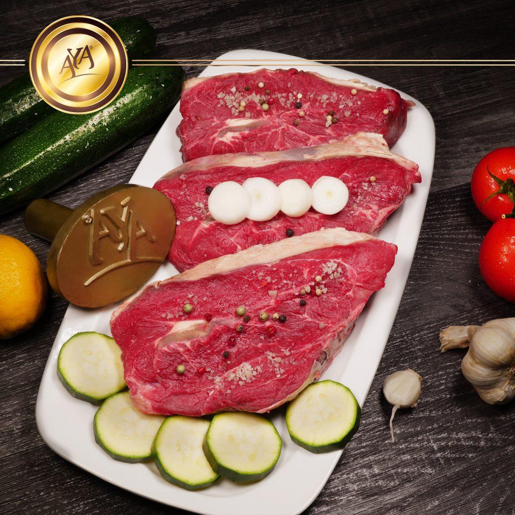 Paleron de bœuf à griller